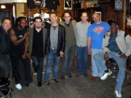 Musicians at BLUES on Halsted - Mark Wydra, Pooky Stix, Rob Stone, Martin Lang, Rockin' Johnny, Rodney Brown, Eddie Shaw