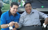 Rob Stone with James Cotton