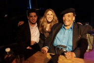 Rob Stone with James Cotton and Lynn Orman-Weiss