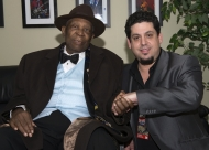 Rob Stone with BB King