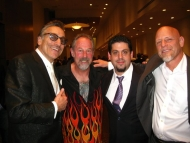 Harp Players at the BMAs! Rick Estrin, Mark Wenner, Rob Stone, Tad Robinson