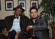 Rob Stone with BB King - after opening for BB in Cali