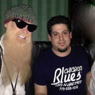 Rob Stone with Billy Gibbons