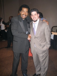 Rob Stone with Bobby Rush