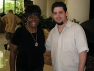 Rob Stone with Koko Taylor