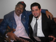"Rob Stone with Matt ""Guitar"" Murphy"