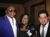 Rob Stone with Otis Clay and Demetria Taylor