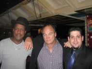 Rob Stone with Willie Hayes and Jim Belushi