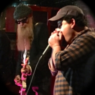 Rob Stone with Billy Gibbons (of ZZ Top)